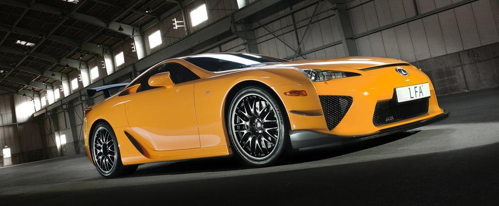 Lexus LFA为什么这么特殊?